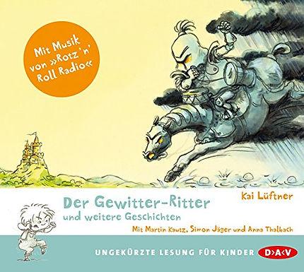 """Hörbuch-Verlosung: """"Der Gewitter-Ritter und weitere Geschichten"""", ab 4-5 Jahren"""