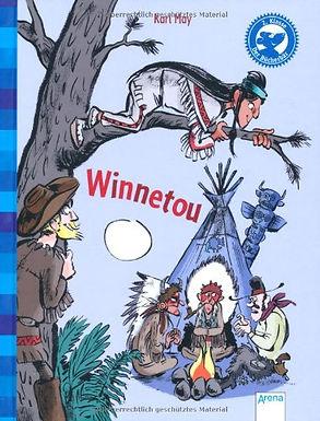 """BUCHVERLOSUNG für Erstleser: """"Der Bücherbär: Winnetou"""" Klassiker, 2. Klasse"""