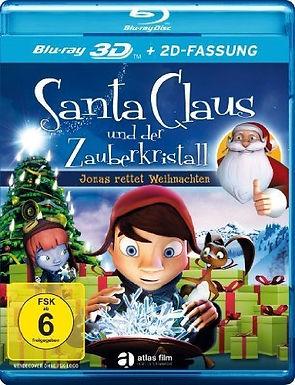 Santa Claus und der Zauberkristall 3D