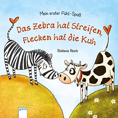 Das Zebra hat Streifen, Flecken hat die Kuh