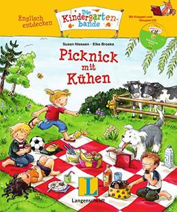 Englisch entdecken: Die Kindergartenbande - Picknick mit Kühen