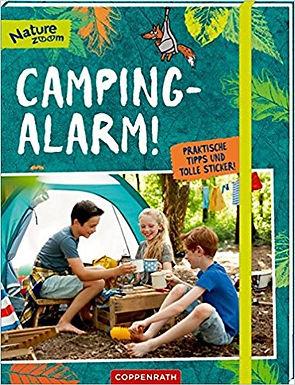 Camping-Alarm! Praktische Tipps und tolle Sticker!