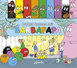 Farben kennen mit Barbapapa