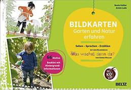 """Nikolo Bildkarten - Garten und Natur erfahren mit dem Bilderbuch: """"Was wächst denn da?"""""""
