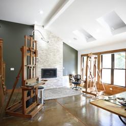Mindy fireplace studio.JPG