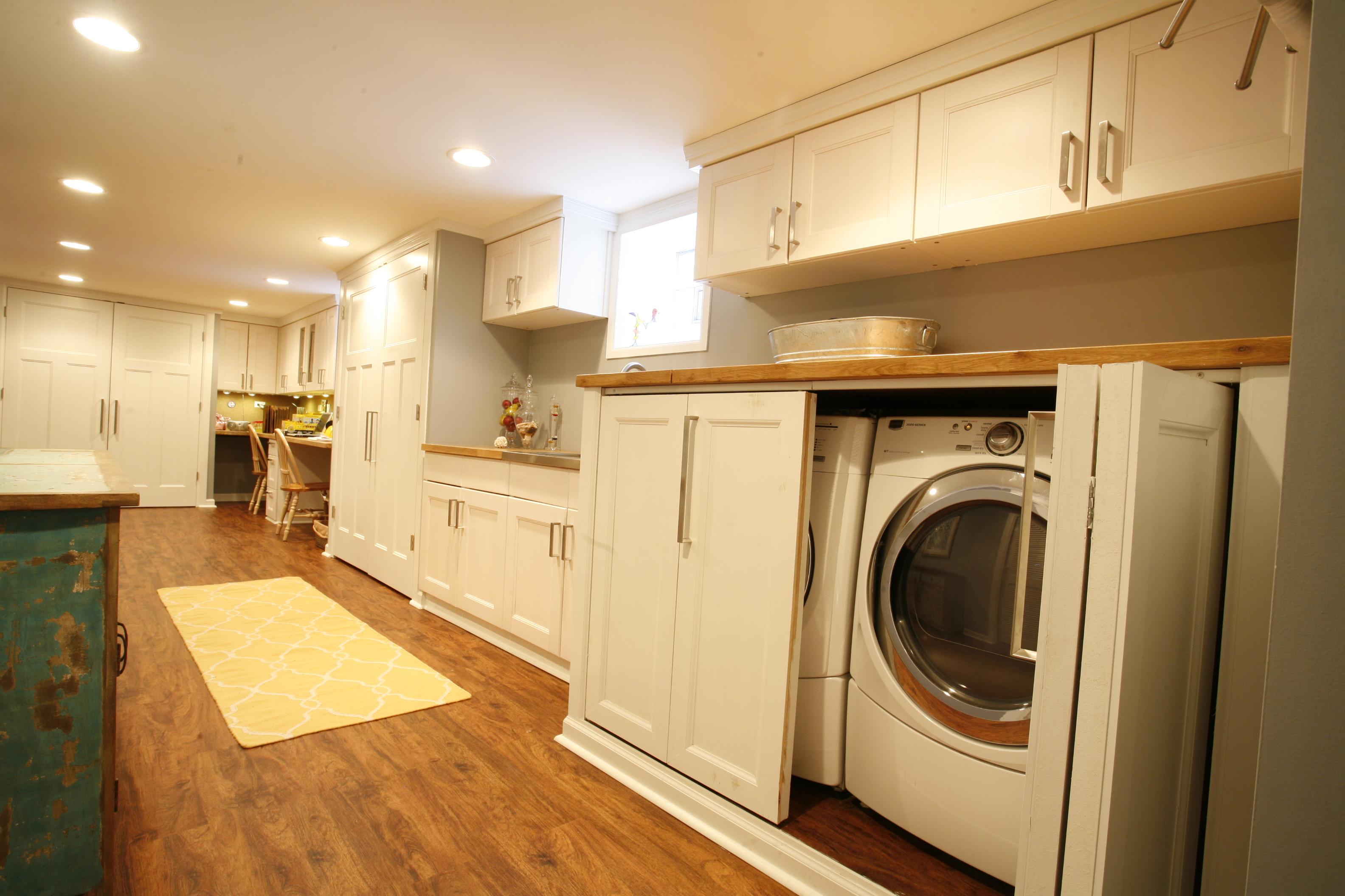 Jenna Basement Laundry
