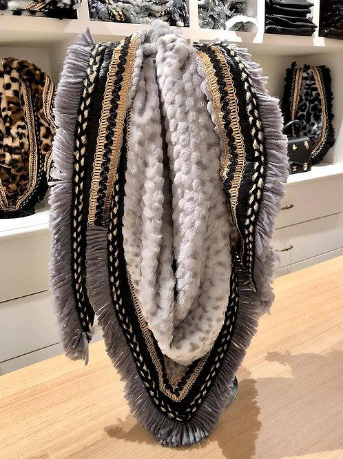 Sjaal Light Grey
