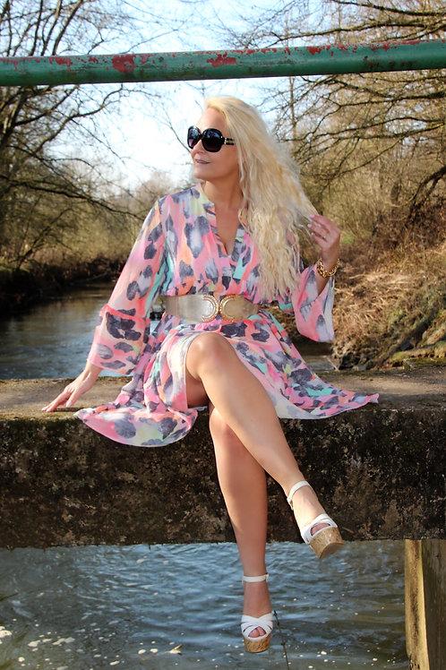 Candy Dress Pink Los model