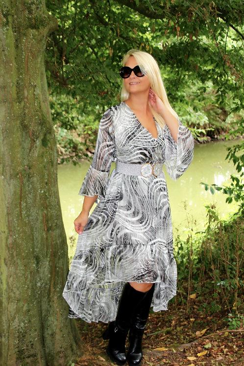 Dress light grey