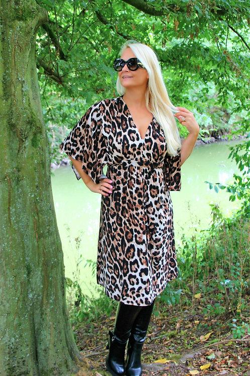Dress print leopard