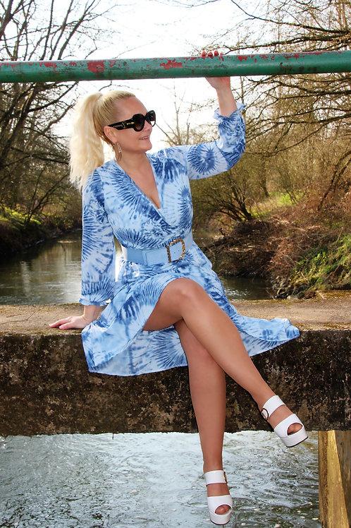 Kleedje Flame Blue