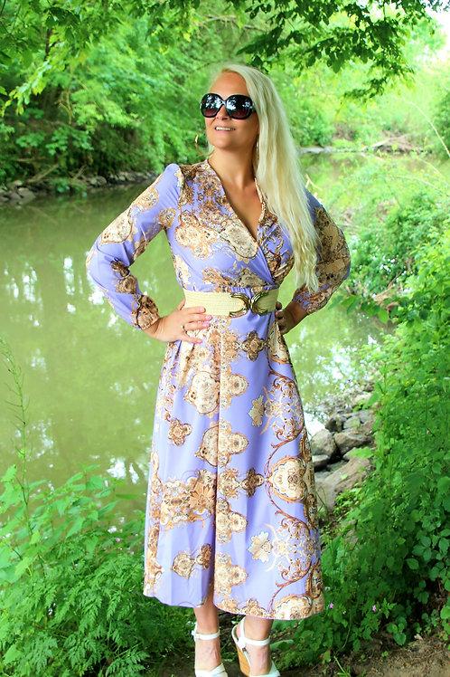 Long Dress Lilla