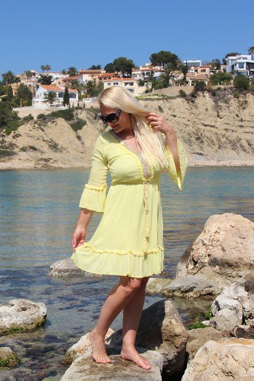 Kleed Boho Yellow