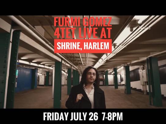 Furmi Gomez Quartet, Harlem, NYC