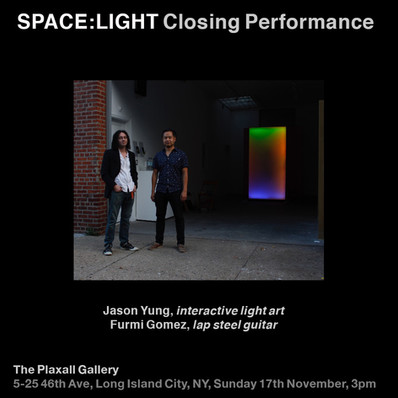 Spacelight Plaxal Gallery, NYC