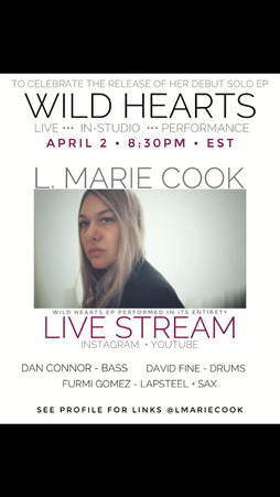 L. Marie Cook Band, NYC