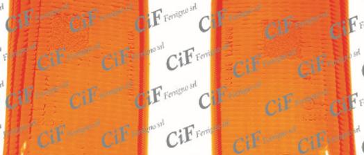 Plastiche frecce posteriori arancio Vespa PK XL