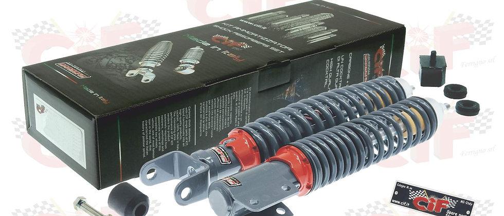 Kit ammortizzatori sport grigi Vespa PX 125-150-200 -125 T5