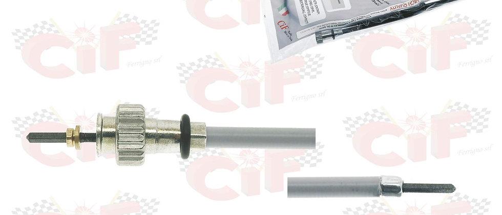Cavo contachilometri Vespa PX 125-150-200 prima serie attacco a ghiera