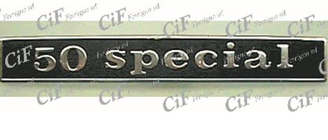 "Targhetta posteriore ""50 Special"""