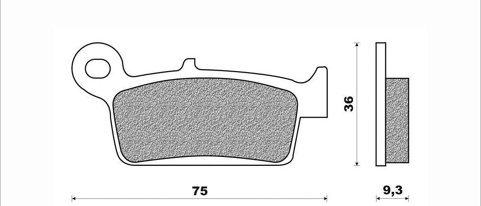Coppia pastiglie Newfren Honda - Kymco - Peugeot