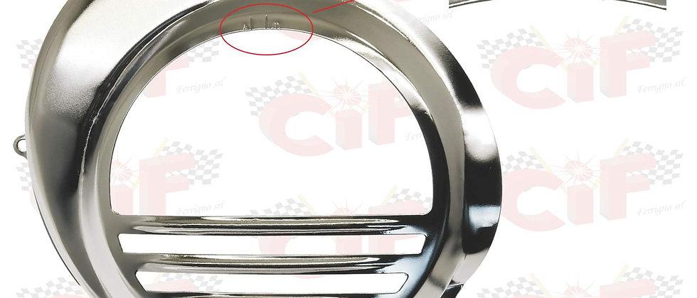 Coperchio copri volano cromato Vespa PX 125 150 200 freno a disco