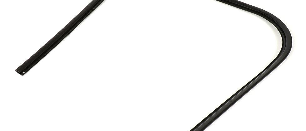 Bordo scudo nero in plastica Vespa PK S