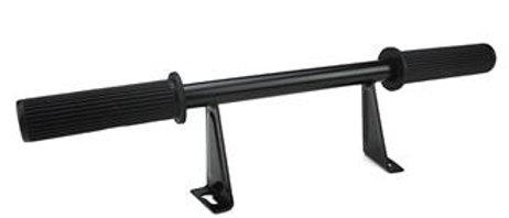 Appoggiapiedi passeggero nero Vespa PX 125-150-200