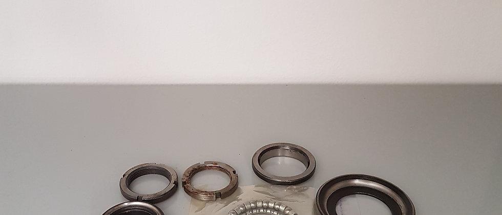 Coppia calotte cuscinetti sterzo Vespa 50 - 125 Primavera ET3 - PX - Zip