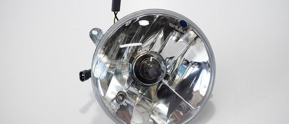 Faro anteriore Triom trasparente Vespa PX 125 150 200 freno a disco