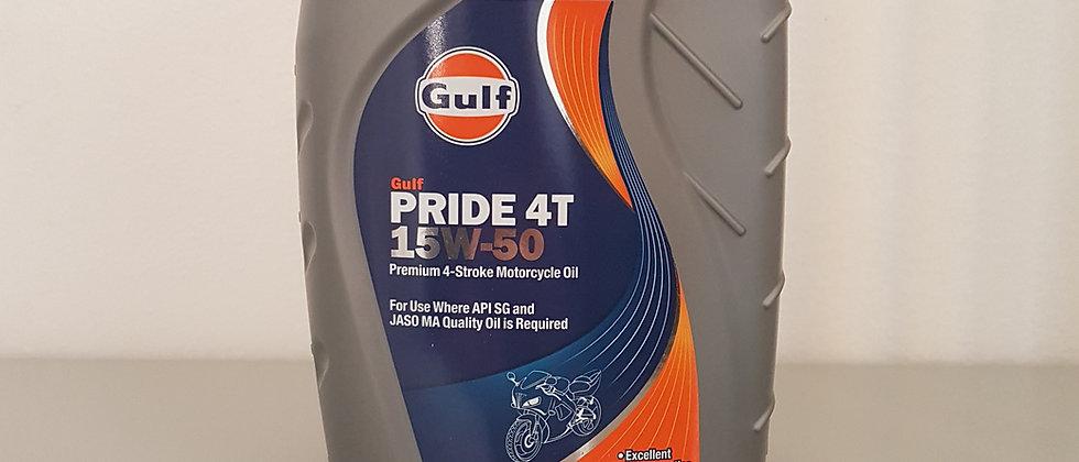 Olio Gulf pride 4T 15W50