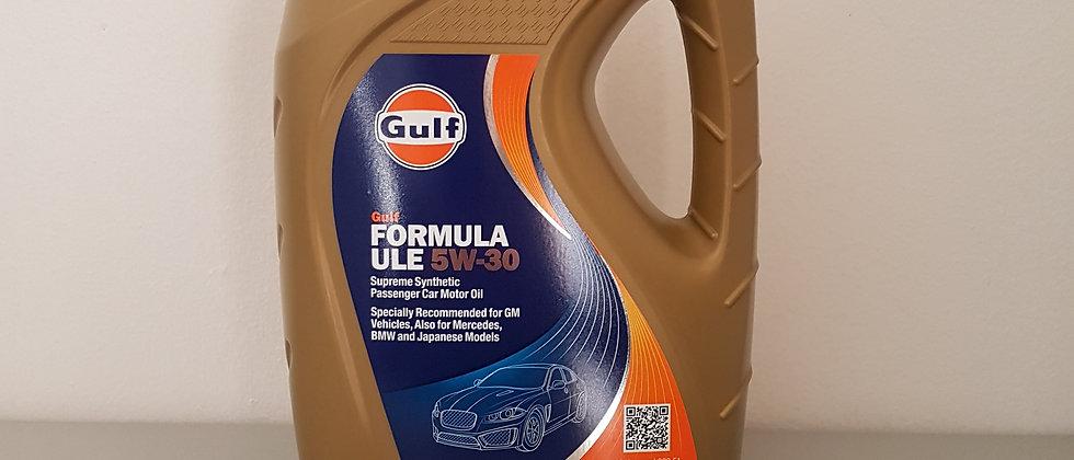 Olio Gulf 5W30 per auto sintetico (4 Litri)
