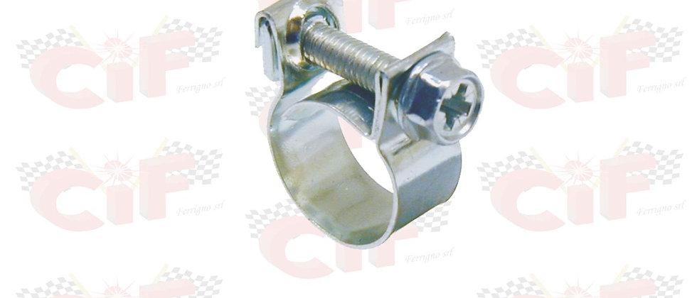 Fascetta per tubo benzina diametro utilizzo 10-12mm
