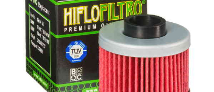 Filtro olio HF185 Aprilia - Peugeot 125-150