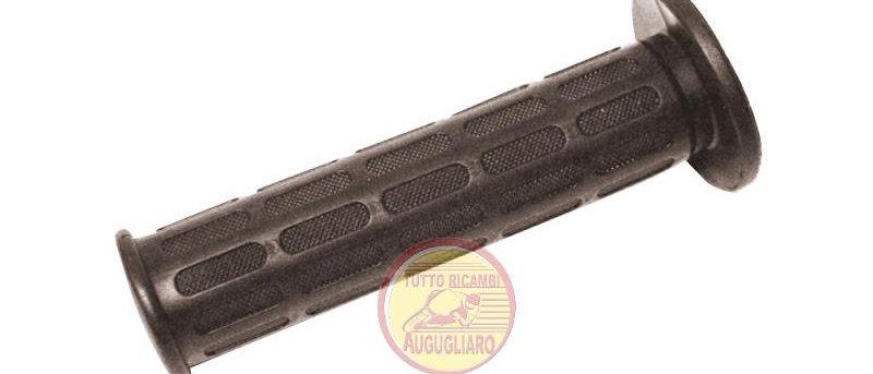 Coppia manopole nere Domino Scooter Moto 134mm 24/22mm