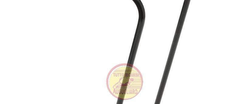 Portapacchi anteriore Bici nero in ferro