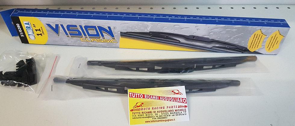 Coppia spazzole tergi cristallo Fiat 500 F L R