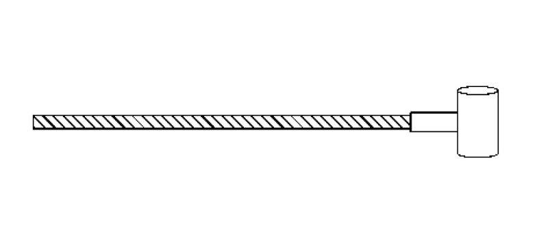 Cavo acceleratore Ape 501-601