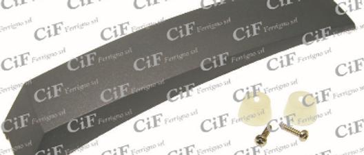 Cresta parafango in plastica tipo largo Vespa PX 125-150-200