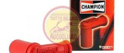 Cappuccio pipetta candela Champion rosso con resistore Vespa Scooter Moto