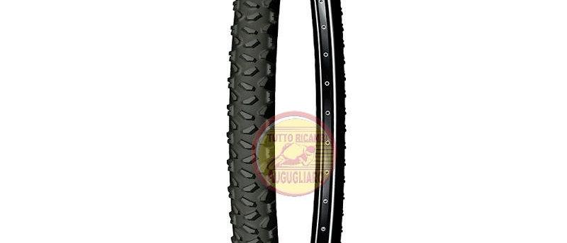 Pneumatico mtb 26 x 2,00 - pieghevole country trail nero Michelin