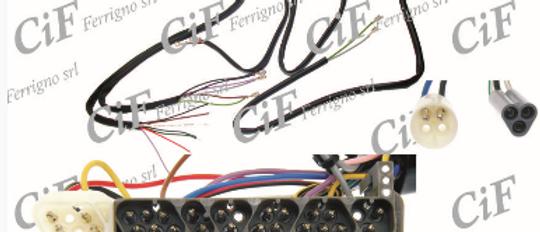 Impianto elettrico Vespa PX seconda serie con avviamento elettrico