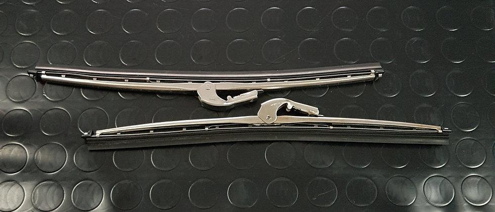 Spazzole tergi cristallo Fiat 500 F L R attacco grande