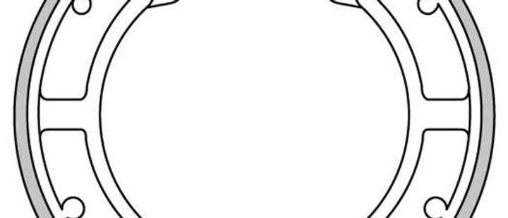 Ganasce posteriori Vespa 50