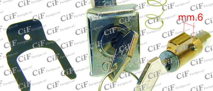 Kit serrature bloccasterzo Vespa 50 R - 125 ET3 - PX