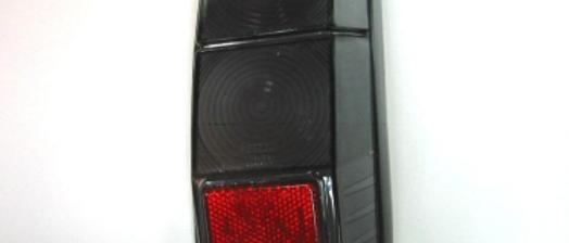 Plastica stop posteriore destro color fume' Fiat 500