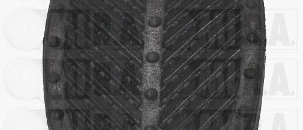Gommino copripedale freno/frizione Fiat 500 F L R D - 126