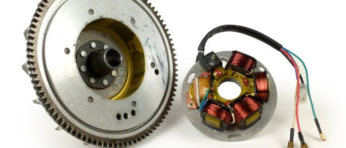 Kit statore + volano Vespa PX con avviamento elettrico