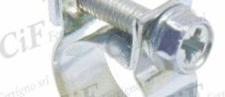 Fascetta per tubo benzina diametro utilizzo 12-14mm