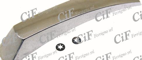 Cresta parafango in alluminio Vespa PX